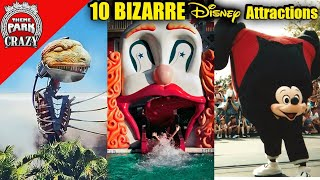 Top 10 STRANGEST Disney Rides & Attractions