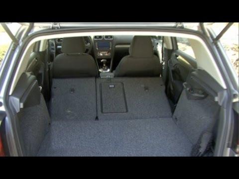 2010 Volkswagen Golf - Cargo Capabilities