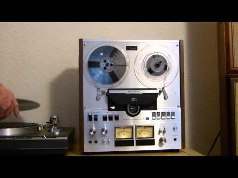 SONY TC-558 auto-reverse stereo open reel to reel tape deck