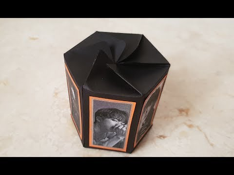 DIY Hexagon Twist Top Box  - BTS Ver.