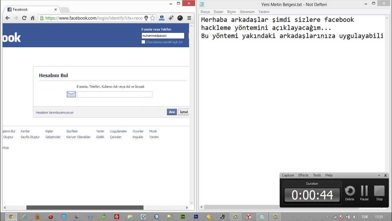 Facebook hesap çalma yöntemlerine dikkat!