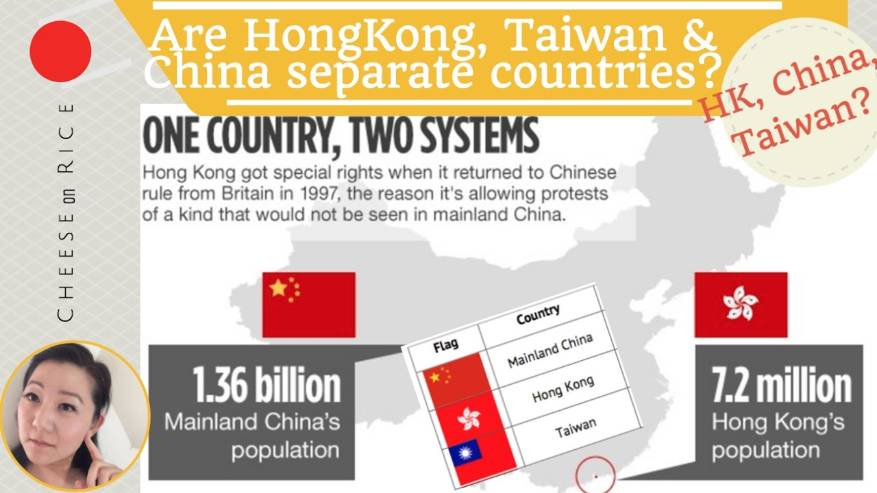 Are Taiwan Hong Kong China Diffe Countries Flags Politics Cheeseonrice Ep004
