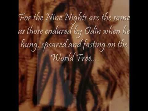 Nine Insufferable Nights - The Initiation of Freyr (Skírnismál, Poetic Edda)