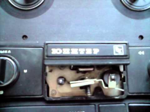 Катушечный стерео магнитофон
