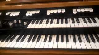 Adding left hand bass foldback to a Hammond M100 organ