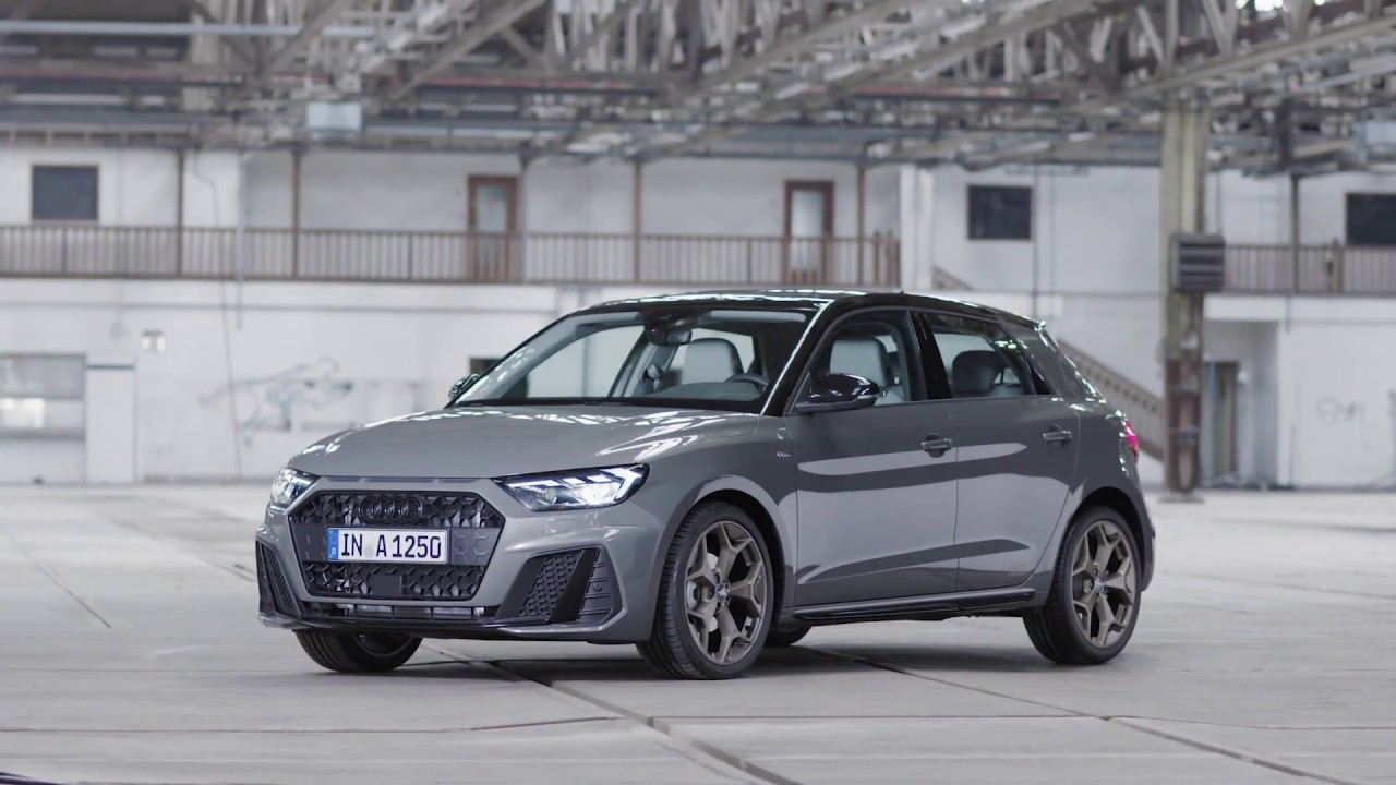 The New Audi A1 Sportback Design In Chronos Grey