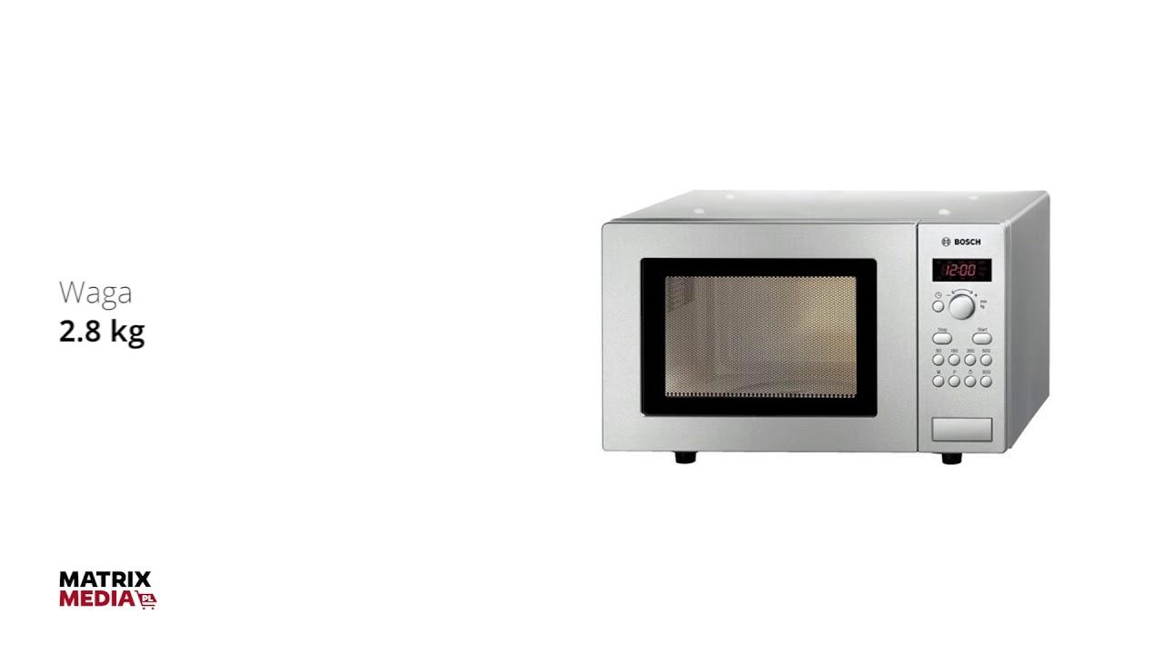 Bosch Hmt75m451 Kuchenka Mikrofalowa Dla Ludzi Z Pasją Matrix Media