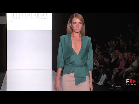 JULIA DALAKIAN Spring Summer 2014 Moscow - Fashion Channel