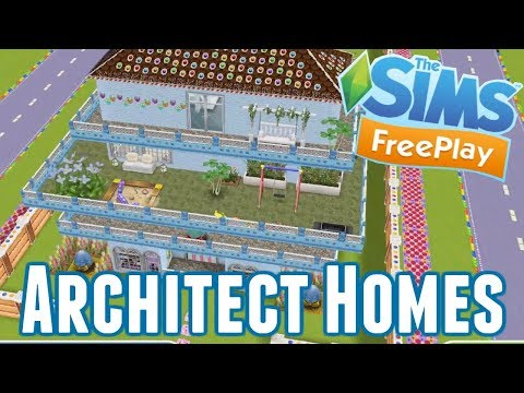 Sims Freeplay | Architect Homes | November 2017