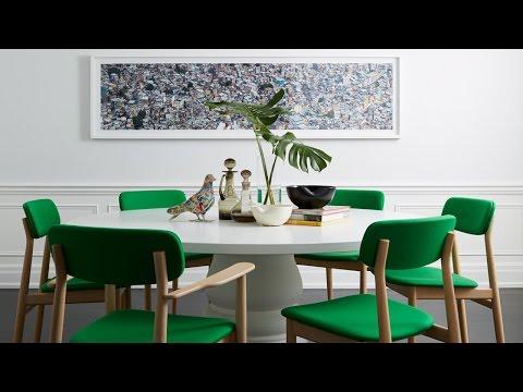 Interior Design — Fun, Colourful & Art-Filled Family Home
