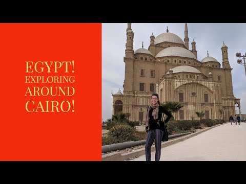 Seeing Egypt Solo! Cairo, Garbage City, Giza and more!
