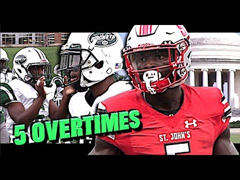 5 Overtimes!! Game was CRAZY!! | #4 St John's (D.C) v #11 Miami Central (FL) - MUST WATCH