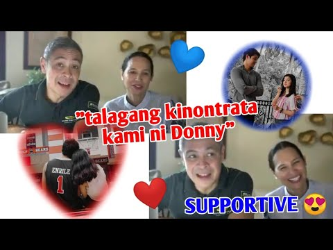 Download DONNY KINONTRATA ANG BUONG PAMILYA PARA MANOOD NG HE'S INTO HER💙❤️ | DonBelle's D.