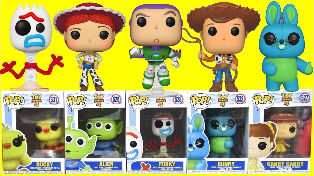 Unboxing Toy Story 4 Movie Funko Pop Toys Youtube