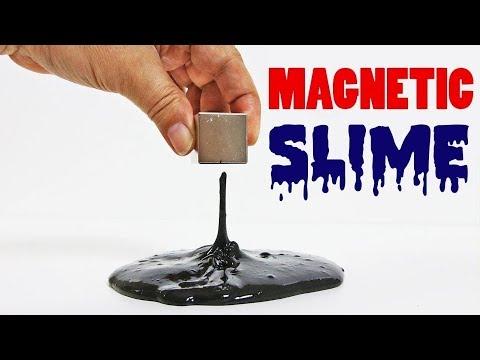 Manyetik Slime Nasıl Yapılır - How To Make Magnetic Slime - OYUNCAK HEDİYE TV
