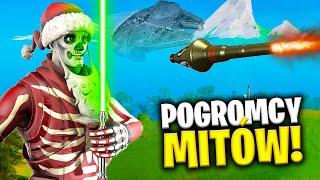 FORTNITE x STAR WARS POGROMCY MITÓW SEZON 1 !