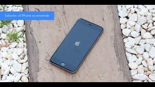 Solución el iPhone no enciende, sale la pantalla en negro thumbnail