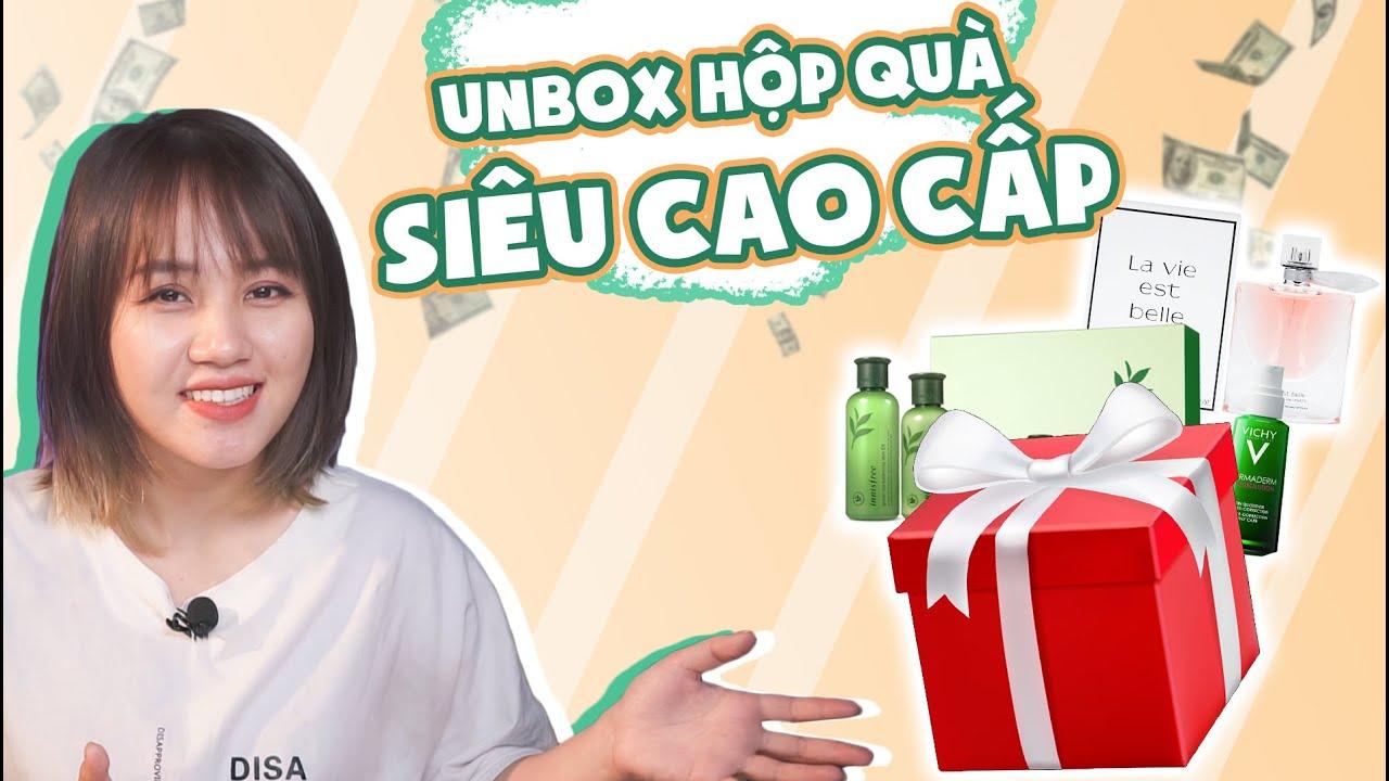 Unbox 1 thùng quà skincare cho da dầu mụn – Lazada tài trợ video này  | Châu Giang nè!