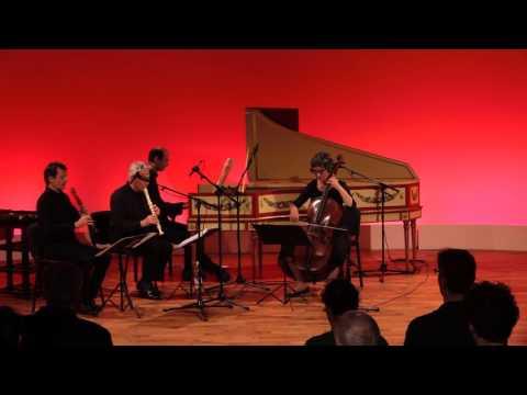 Tripla Concordia & Walter van Hauwe: J.S. Bach BWV 1028 - Trio Sonata in Fa