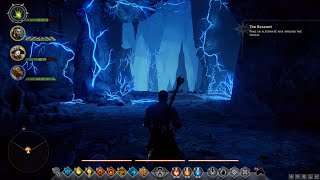 Dragon Age Inquisition - Max Level Mage and Party Gameplay - The Descent