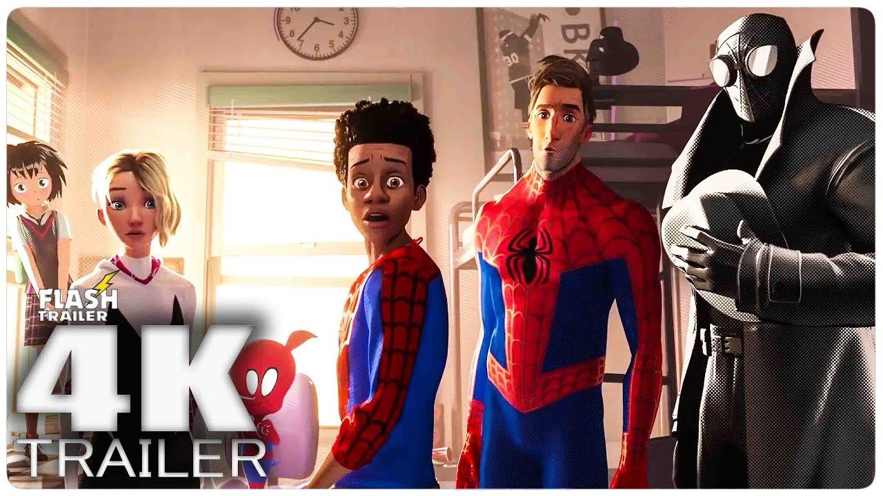 SPIDER MAN: INTO THE SPIDER VERSE Final Trailer (2018) 4K Ultra HD