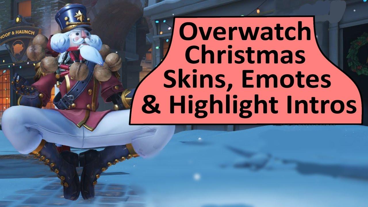 Overwatch Winter Wonderland Skins, Emotes and Highlight Intros ...