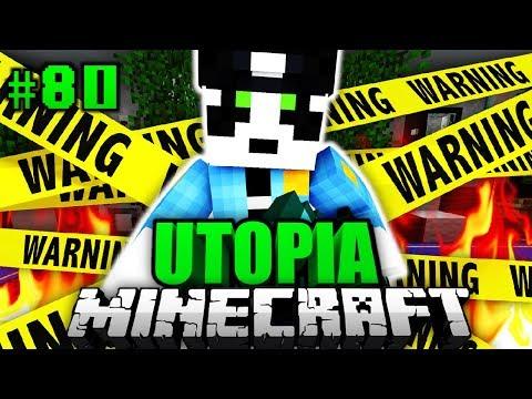 WAS ist HIER PASSIERT?! - Minecraft Utopia #080 [Deutsch/HD]
