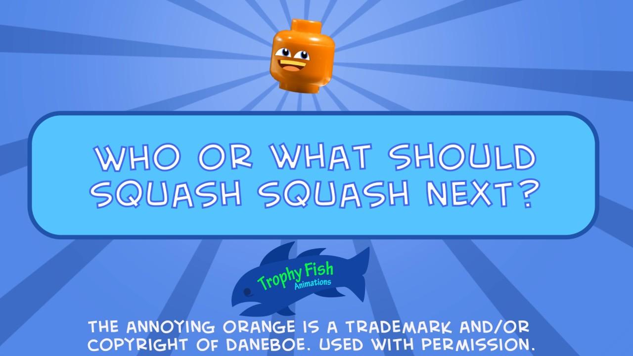 Lego Annoying Orange: Squashing Donald Trunk