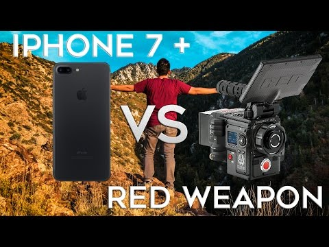 Thumbnail: iPhone 7 + Video vs $50,000 RED Weapon Footage