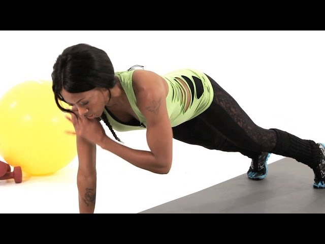 How to Do a Plank Tap | Plyometric Exercises