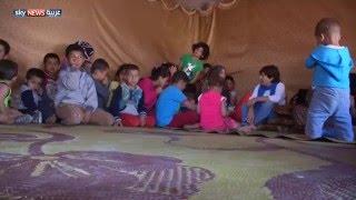 ناشطون يقدمون الدعم للاجئي سوريا بلبنان