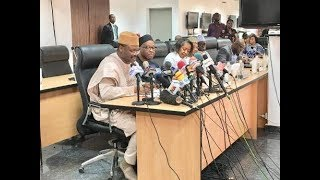 BREAKING: INEC Chairman Differs With Buhari On Punishment For Ballot Box Snatchers
