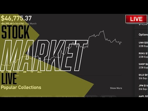 THE STOCK MARKET IS GOING CRAZY!! - Live Trading, DOW & S&P, Stock Picks, Day Trading & STOCK NEWS