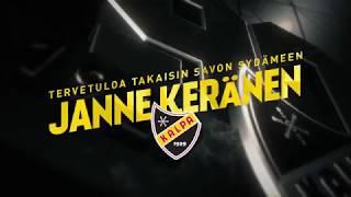 Tervetuloa takaisin Savon sydämeen, Janne Keränen!