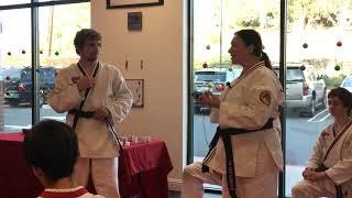 Black Belt Ceremony - Irina Pyrkova (for Riley Moorhead) (Dec 8, 2018)