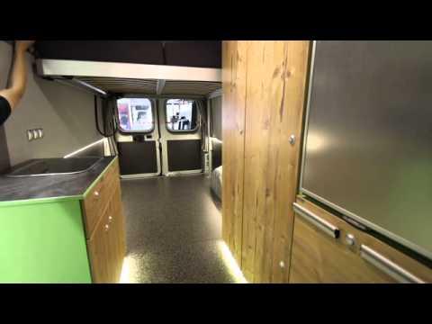 flexebu h henverstellbares bett f r fiat ducato youtube. Black Bedroom Furniture Sets. Home Design Ideas