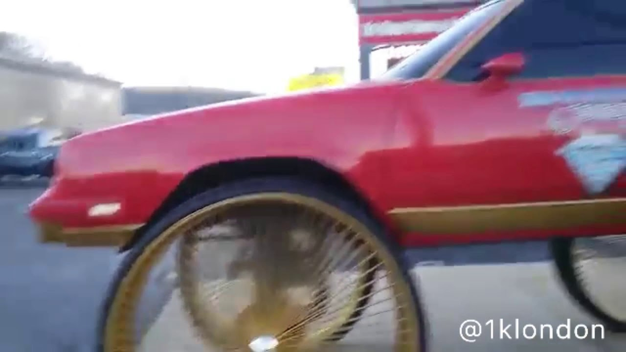 50 Inch Rims On A Low Rider