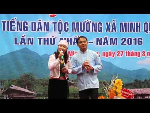 Hội Thi Nói Tiếng Dân Tộc Mường Xã Minh Quang Lần Thứ Nhất Năm 2016