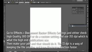 How to Change DPI in Illustrator