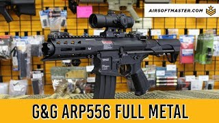 G&G GR16 ARP556 Full Metal w/ Burst Mosfet Review