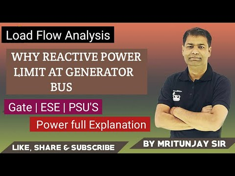 #2.30 WHY REACTIVE POWER LIMIT AT GENERATOR BUS(load flow) thumbnail