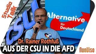 Aus der CSU in die AfD - Rainer Rothfuß im NuoViso Talk