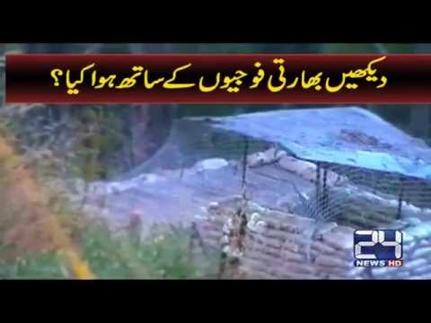 Pak Army Gives Terrific Response To Firing At Line Of Control