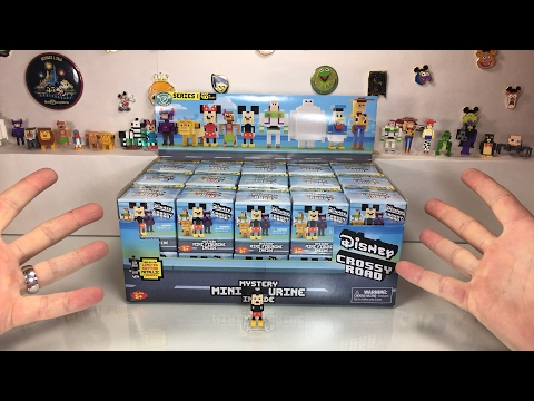 ANOTHER Disney Crossy Road Case & 4 Pack Unboxing Live Stream