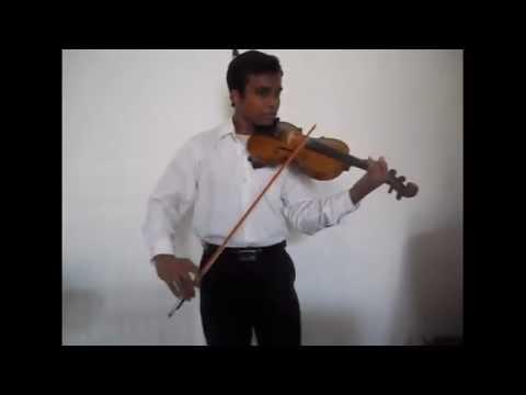 Iki Gasa Handana - Mr. Amarasiri Pieris - Violin cover by Uthpala Kaushalya