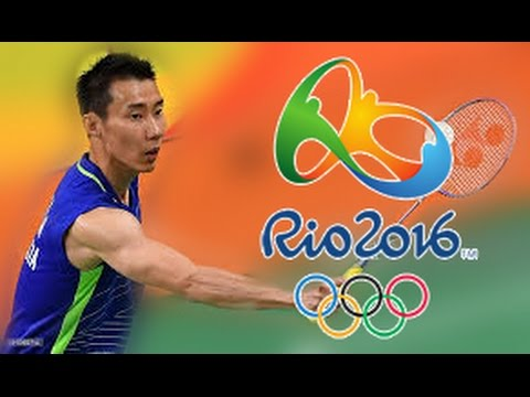 Lee Chong Wei is ready after beating Lin Dan!!! Third Set - Olympic Games 2016