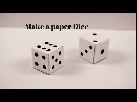 Diy-How to make paper ludu || Great IDEA 360