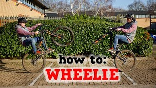How to Wheelie - MTB BASICS