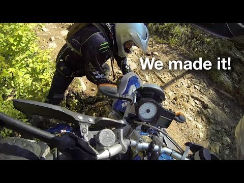 Success! We finally made it. BMW F800GS and HP2.