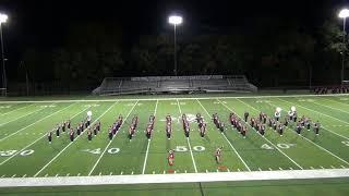 Rittman Ohio High School Marching Band - St. V. Show - 10/7/17